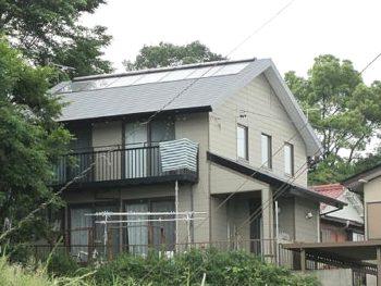 小山市 T様邸 屋根塗装リフォーム事例